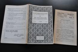 L'INTERMEDIAIRE DES GENEALOGISTES 109 1964 Généalogie Héraldique TAYMANS LE KEUX De Ligny Studibeurs Te Sint-Truiden - Histoire