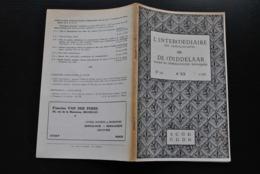 L'INTERMEDIAIRE DES GENEALOGISTES 116 1965 Généalogie Héraldique COLLETTE DE GREZ Sweder D'Abcoude Gaesbeek Pipenpoy - Histoire