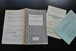 L'INTERMEDIAIRE DES GENEALOGISTES 119 1965 Généalogie Héraldique Seigneurs De WAVRIN Epinoy Antoing Baudouin Fabiola - Histoire