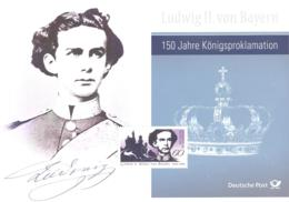 Bund  Ludwig II Von Bayern  150 Jahre Königsproklamation - Erinnophilie
