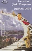 Turkey, TR-TT-N-421, Eurovision Song Contest 2004, 2 Scans. - Turkije