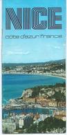 Tourism Brochures - Bienvenue A Nice / France, - Map - Tourism Brochures