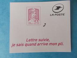 TIMBRE  AUTOADHESIF  No: 1217A , MARIANNE De La JEUNESSE ,LETTRE SUIVIE, XX , En Bon état - France