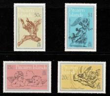 Pitcairn Islands 1982 Christmas Set Of 4 MNH - Briefmarken