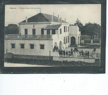 """Afrique-Algerie-MORRIS-( Ben Mehidi)-Une Vue Animée De L'ECOLE De GARCONS """" En 1908 - Algérie"""
