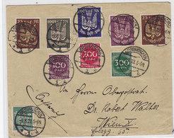 Dt.Reich Brief Mit Guter Frankatur Nach Wien - Deutschland