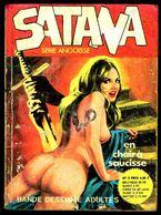 """""""SATANA - N° 2: En Chair à Saucisse"""" - Editions Du Bois De Boulogne - Paris - 1977. - Erotic (Adult)"""
