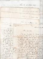 1806/45 11 Lettres De TURIN à DESPINE Père, Inspecteur Des EAUX THERMALES à AIX En SAVOIE - Politique - Documents Historiques