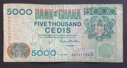 RS - Ghana 5000 Cedis Banknote 2000 #BB7411849 - Ghana