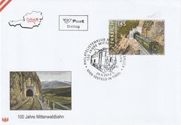 100 Jahre Mittenwaldbahn 2012 - FDC