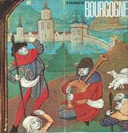 Tourism Brochures - Bourgogne / France, - Map - Tourism Brochures