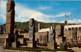 BOLIVIA , T.P. NO CIRCULADA , TEMPLETE TIAHUANACO - LA PAZ , ARQUEOLOGIA , ARCHEOLOGY - Bolivia