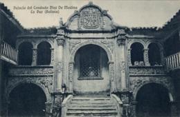 BOLIVIA , T.P. NO CIRCULADA , PALACIO DEL CONDADO DIEZ DE MEDINA - LA PAZ - Bolivia