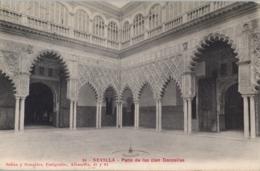 SEVILLA , T.P.  CIRCULADA , PATIO DE LAS CIEN DONCELLAS - Sevilla