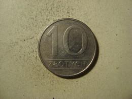 MONNAIE POLOGNE 10 ZLOTYCH 1988 - Polen