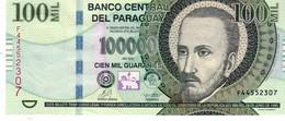 Paraguay P.237b 100000 Guarani 2013   Unc - Paraguay