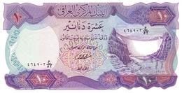 Iraq P.65b  10 Dinars 1973 Unc - Iraq