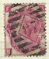 GRANDE BRETAGNE:  Y&T 33 Obl.  ''London Diamond 87''   B à TB - 1840-1901 (Victoria)