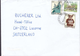 Poland SWIDNIK K. LUBLIN 1999 Cover Brief LUCERNE Switzerland - 1944-.... Republic