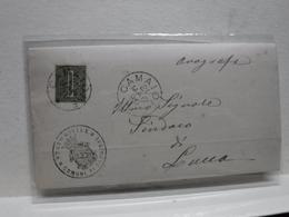 ANNULLO DOPPIO CERCHIO --UMBERTO I ---   CAMAIORE   -LUCCA - Storia Postale