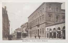 Cartolina Mantova - Corso Vittorio Emanuele - 1919 - Mantova