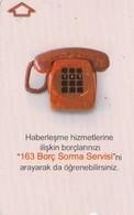 Turkey, TR-TT-N-428, 163 Bill Inquiry Service, 2 Scans. - Turkije