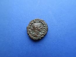 CARINUS  (283 - 285) AD,   AE Tetradrachme.   8,52 Gr.  -   ALEXANDRIA  (283-284) AD - 5. Der Soldatenkaiser (die Militärkrise) (235 / 284)