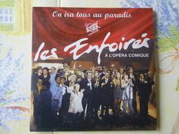 CD 2 TITRES LES ENFOIRES VOIR DESCRIPTIF ET PHOTO... REGARDEZ LES AUTRES (PLUSIEURS) - Cassettes Audio