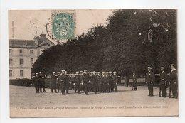 - CPA BREST (29) - Le Vice-Amiral GOURDON, Préfet Maritime, Passant La Revue D'Honneur De L'Ecole Navale (Juillet 1903) - Brest