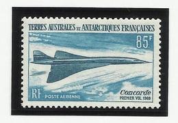TAAF PA N° 19 * Neuf Avec Charnière 1969 Concorde Avion - Poste Aérienne