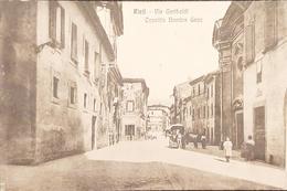 Cartolina Rieti - Via Garibaldi - Convitto Bambin Gesù - 1925 - Rieti