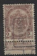 PREOS Roulette - LOUVAIN 1910 (position A). Cat 1537 Cote 350. Pli. - Precancels