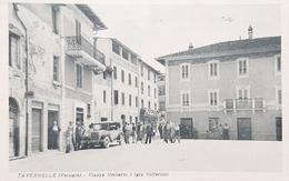 Cartolina Tavernelle - Perugia - Piazza Umberto I ( Gia Solferino ) - 1918 - Perugia