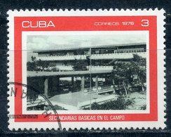 Y85 CUBA 1976 2143 Rural Secondary Schools - Cuba