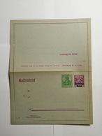 Deutsches Reich  Kartenbrief - Germany