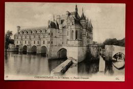 CPA 37 Château De Chenonceaux Façade Orientale - Ed LL 12 - Chenonceaux