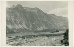 Ansichtskarte Stampa Inseln Im Silsersee / Lago Di Sils 1909 - GR Grisons