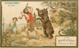 CHROMOS - BISCUITS PERNOT- A LA HACHE DE SILEX - Documentos Antiguos