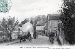 CHARS    Rue De Brignacourt    Animée - Chars