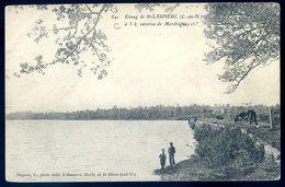 Cpa Du 22 étang De St Launeuc  -- Environs Merdrignac  AVR20-162 - France