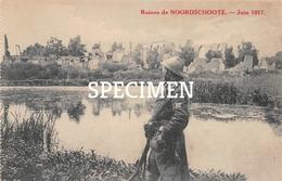 Ruines De  Noordschote Juin 1917 - Lo-Reninge