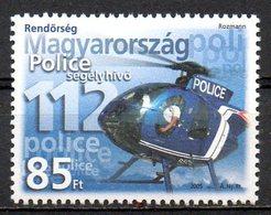 HONGRIE. N°°4060 De 2005. Hélicoptère De La Police. - Hélicoptères