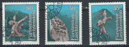 RR-/-578-  N° 784/86,  Obl. , Cote 3.00 €, Voir Detail  ,  Je Liquide - Liechtenstein