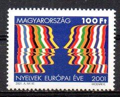 HONGRIE. N°°3763 De 2001. Année Européenne Des Langues. - Sprachen