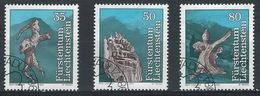 RR-/-692-  N° 784/86,  Obl. , Cote 3.00 €, Voir Detail  ,  Je Liquide - Liechtenstein