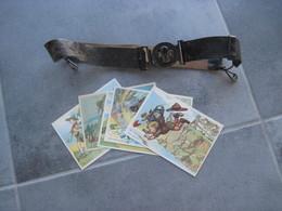 Un Ceinturon SCOUT A Identifier Plus 5 Cartes - Movimiento Scout