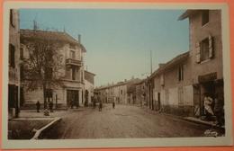 CARTE CRECHES SUR SAONE - 71 - PLACE DE LA REPUBLIQUE - SCAN RECTO/VERSO -11 - France