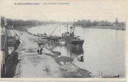 ARGENTEUIL -  LA SEINE A ARGENTEUIL - Argenteuil