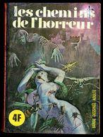 """""""SERIE ROUGE - N° 35: Les Chemins De L'Horreur"""" - Editions ELVIFRANCE - Paris. - Erotic (Adult)"""