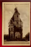 CPA Glacée 37 Chenonceaux Le Château La Tour Et Le Puits - Ed LL 73 - Couleur Jaunâtre - Chenonceaux